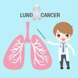 Πνεύμονας με την έννοια υγείας απεικόνιση αποθεμάτων