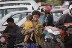 Πνομ Πενχ, Καμπότζη Στοκ Εικόνα