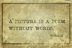Ποίημα χωρίς απόσπασμα του Ορατίου στοκ εικόνα με δικαίωμα ελεύθερης χρήσης