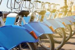 Ποδήλατα για το μίσθωμα Στοκ Φωτογραφία