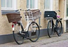 ποδήλατα δύο καλαθιών Στοκ Εικόνες