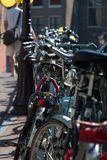 ποδήλατα ι του Άμστερντα&mu Στοκ Εικόνα