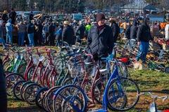Ποδήλατα μηχανικών δίκυκλων Στοκ φωτογραφία με δικαίωμα ελεύθερης χρήσης