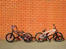 ποδήλατα bmx Στοκ φωτογραφία με δικαίωμα ελεύθερης χρήσης