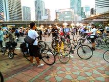 Ποδήλατο για να απασχοληθεί στην ημέρα στοκ εικόνες με δικαίωμα ελεύθερης χρήσης