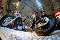 Ποδήλατο μηχανών Harley Στοκ Εικόνες