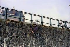 ποδήλατο που κρύβεται Στοκ εικόνα με δικαίωμα ελεύθερης χρήσης