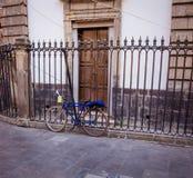 Ποδήλατο στην οδό Πόλη του Μεξικού Στοκ εικόνες με δικαίωμα ελεύθερης χρήσης