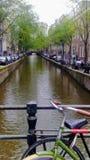 Ποδήλατο του Άμστερνταμ στοκ φωτογραφία