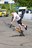 ποδήλατο Igor μΑ pereversev stantman Στοκ Εικόνες