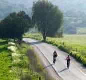 ποδηλάτες Στοκ Φωτογραφία