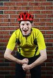 Ποδηλάτης κάμψης Στοκ φωτογραφίες με δικαίωμα ελεύθερης χρήσης