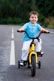 ποδηλάτης λίγος οδικός γύρος Στοκ Εικόνες
