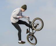 Ποδηλάτης Bmx Στοκ Φωτογραφίες