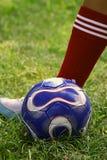 ποδόσφαιρο έξοχο Στοκ φωτογραφίες με δικαίωμα ελεύθερης χρήσης