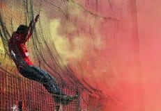 ποδόσφαιρο ανεμιστήρων Στοκ φωτογραφία με δικαίωμα ελεύθερης χρήσης