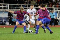 ποδόσφαιρο αντιστοιχιών στοκ φωτογραφία