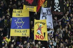 ποδόσφαιρο αντιστοιχιών &al Στοκ εικόνες με δικαίωμα ελεύθερης χρήσης