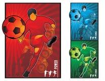 ποδόσφαιρο απεικόνισης π Στοκ Εικόνες