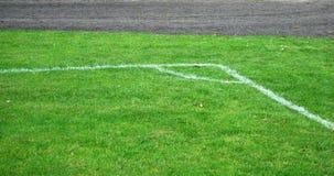 ποδόσφαιρο γωνιών στοκ φωτογραφία με δικαίωμα ελεύθερης χρήσης