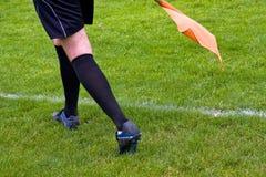 ποδόσφαιρο διαιτητών Στοκ Φωτογραφίες