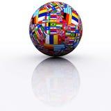 ποδόσφαιρο διεθνές Στοκ φωτογραφία με δικαίωμα ελεύθερης χρήσης