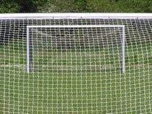 ποδόσφαιρο δύο στόχων Στοκ Εικόνες