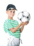 ποδόσφαιρο εκμετάλλευ Στοκ Εικόνα