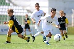 ποδόσφαιρο ενέργειας Στοκ Φωτογραφίες