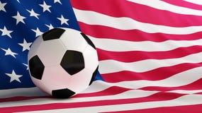 ποδόσφαιρο ΗΠΑ Στοκ φωτογραφία με δικαίωμα ελεύθερης χρήσης