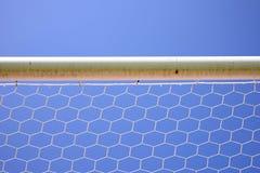 Ποδόσφαιρο καθαρό Στοκ εικόνες με δικαίωμα ελεύθερης χρήσης