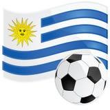 ποδόσφαιρο Ουρουγουάη διανυσματική απεικόνιση