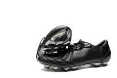 ποδόσφαιρο παπουτσιών Στοκ φωτογραφίες με δικαίωμα ελεύθερης χρήσης
