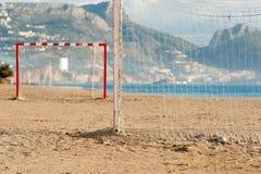 ποδόσφαιρο παραλιών Στοκ Φωτογραφία