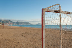 ποδόσφαιρο παραλιών Στοκ Εικόνα