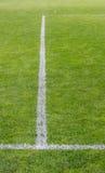 ποδόσφαιρο πεδίων λεπτο& Στοκ εικόνες με δικαίωμα ελεύθερης χρήσης