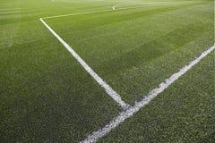 ποδόσφαιρο πεδίων Στοκ Φωτογραφίες
