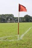 ποδόσφαιρο πεδίων Στοκ εικόνα με δικαίωμα ελεύθερης χρήσης