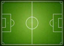 ποδόσφαιρο πεδίων Στοκ φωτογραφία με δικαίωμα ελεύθερης χρήσης