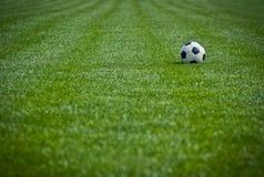 ποδόσφαιρο πεδίων Στοκ Εικόνες