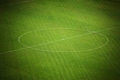 ποδόσφαιρο πεδίων στοκ εικόνα