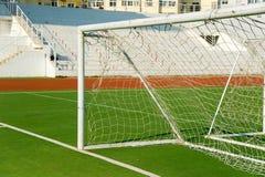 ποδόσφαιρο πισσών λεπτομ Στοκ Φωτογραφίες
