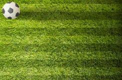Ποδόσφαιρο ποδοσφαίρου Plasticine στοκ εικόνα με δικαίωμα ελεύθερης χρήσης