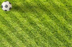 Ποδόσφαιρο ποδοσφαίρου Plasticine στοκ φωτογραφίες