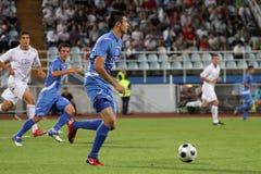 ποδόσφαιρο ποδοσφαίρο&upsil στοκ φωτογραφία με δικαίωμα ελεύθερης χρήσης
