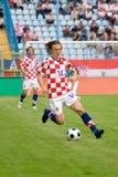 ποδόσφαιρο ποδοσφαίρο&upsil Στοκ εικόνες με δικαίωμα ελεύθερης χρήσης