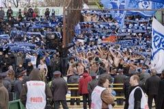 ποδόσφαιρο Ρωσία ανεμισ&tau Στοκ Εικόνα