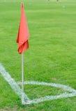 ποδόσφαιρο σημαιών γωνιών Στοκ φωτογραφία με δικαίωμα ελεύθερης χρήσης
