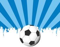 ποδόσφαιρο στην υποδοχή Στοκ φωτογραφίες με δικαίωμα ελεύθερης χρήσης