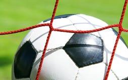 ποδόσφαιρο στόχου έννοια& στοκ φωτογραφία με δικαίωμα ελεύθερης χρήσης